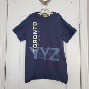 GILDAN Blue Toronto YYZ Men's T-Shirt
